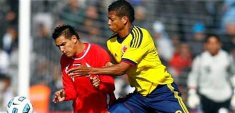 İlk galibiyet Kolombiya'nın