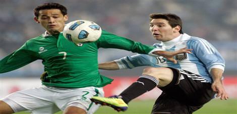 Arjantin'e çelme: 1-1