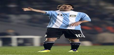 Messi a�z�n� bozdu
