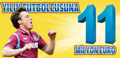 Yılın futbulcusuna 11 milyon euro