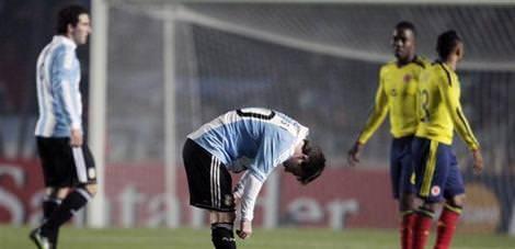 Arjantin: 0 - Kolombiya:0
