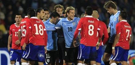Uruguay-Şili: 1-1