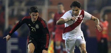 Peru-Meksika: 1-0
