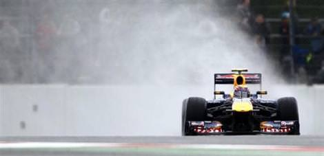 İlk cep Mark Webber'in