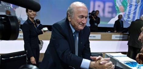 Blatter'den şike açıklaması