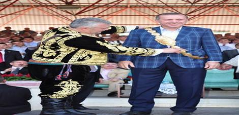 Erdoğan'a kemer