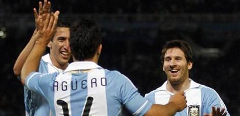 Arjantin, Kosta Rika'yı ezdi geçti!