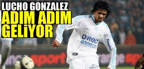 Lucho Gonzales adım adım geliyor