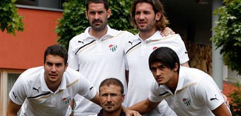 Bursaspor'un kalecileri iddialı