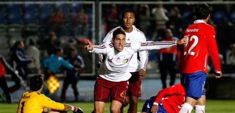 Venezuela yarı finalde