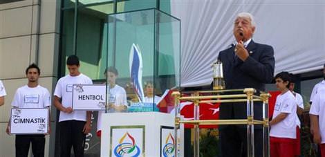 Olimpiyat meşalesi Trabzon'da