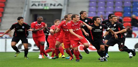 Galatasaray'da tatsız prova