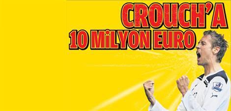 Crouch'a 10 milyon euro