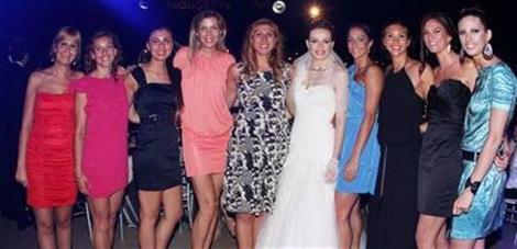 Fenerbahçeli Eda evlendi