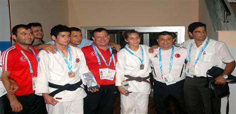 İlk altın judodan