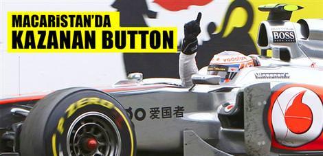Macaristan'da kazanan Button