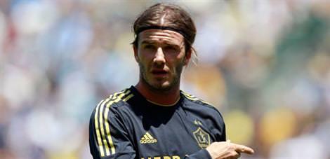 Eriksson, Beckham dedi