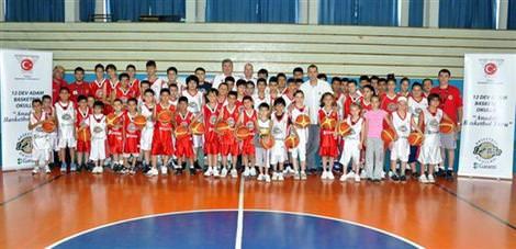 Basketbol eğitim kampı başladı