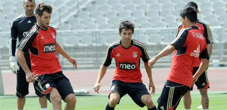 Benfica hazırlıklarını tamamladı