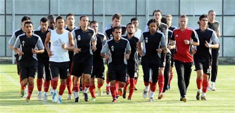 Sivasspor Belgrad'la haz�rl�k ma�� yapacak