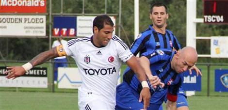 Beşiktaş zorlandı