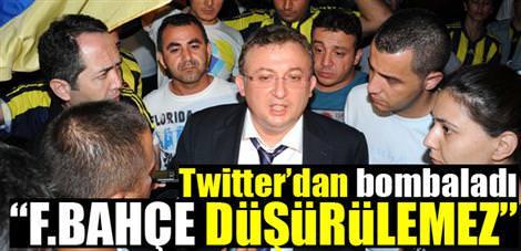 Twitter'dan bombaladı