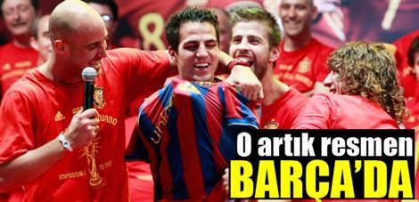 O artık resmen Barça'da