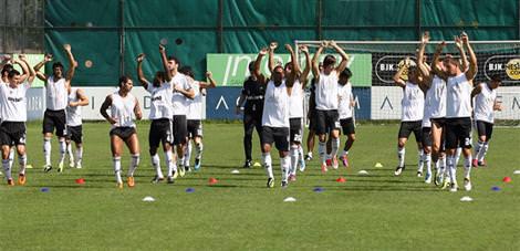 Beşiktaş'ta antrenman yeri değişikliği
