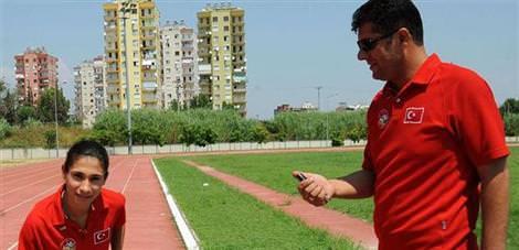 Genç atletin zirve koşusu