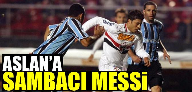 Aslan'a sambacı Messi!