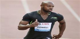 Powell 100 metrede yok