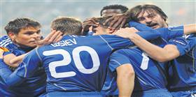 Dinamo Kiev ters geliyor