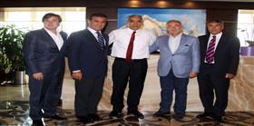 Başkan Aysal'dan Göztepe'ye ziyaret