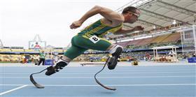 Oscar Pistorius'un büyük zaferi