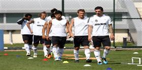 Sarıyer'le hazırlık maçı