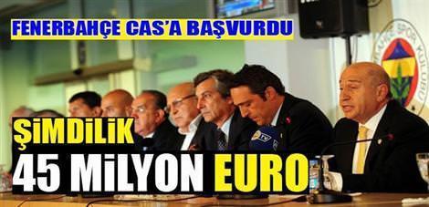 Fenerbahçe CAS'a başvurdu