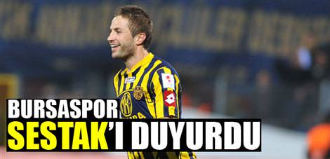 Bursaspor Sestak'ı duyurdu