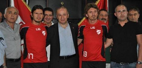Boluspor'da 2 transfer
