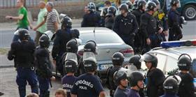 Macaristan'da holigan kavgas�