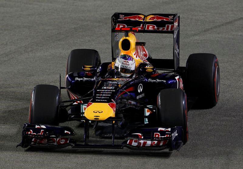 Pistin kralı Vettel