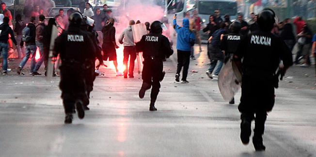 Bosna Hersek'te olaylı maç