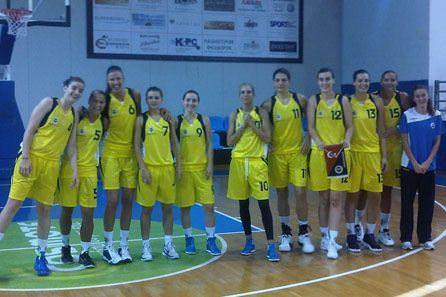 Bayan takımı finalde