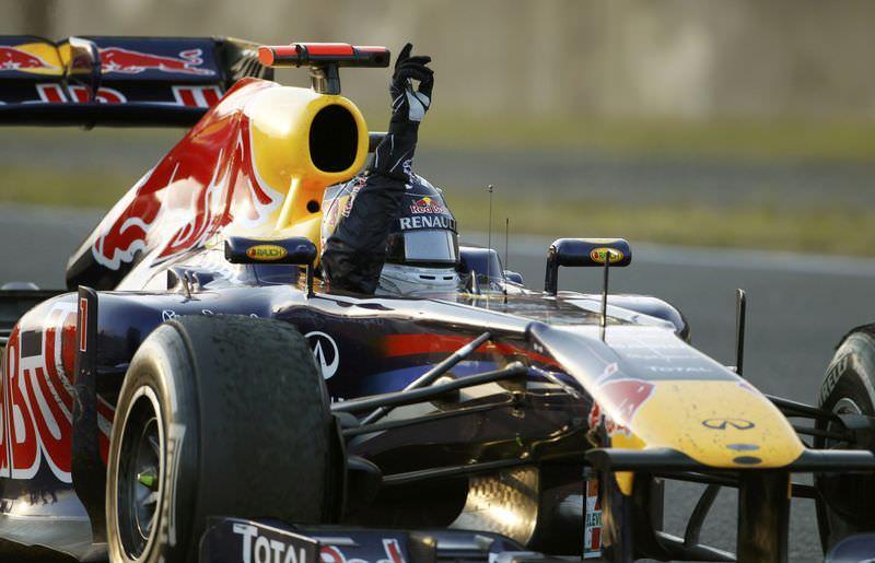 Şampiyon Vettel
