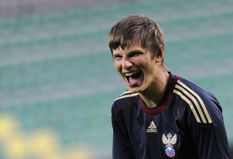 Rus golcü rest çekti