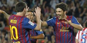 David Villa: Messi sayesinde...