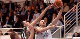 Anadolu Efes: 55 - Alia�a Petkim: 60