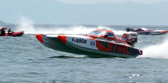 Offshore'da son yarışlar Mersin'de