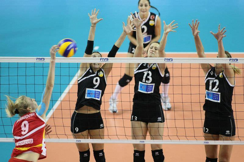 Vak�fbank G�ne� Sigorta d�nya ikincisi oldu: 0-3