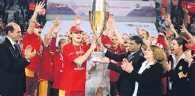 En büyük kupayı G.Saray kazandı