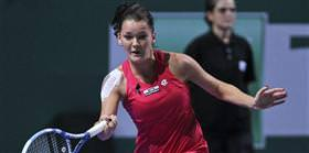 Radwanska Zvonerava'ya geçit vermedi